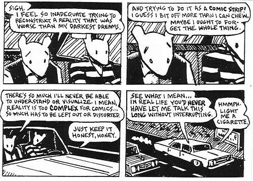 Maus | Reality vs Comics | Art Spiegelman