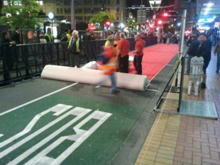 Red Carpet | The Hobbit Premiere | Wellington | Courtenay Place