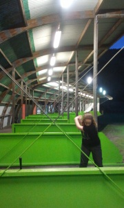 Silverstream Driving Range at Night