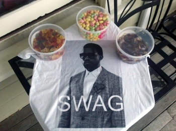 SWAG t-shirt and lollies