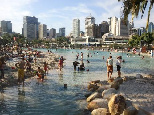 South Bank Beach, Brisbane