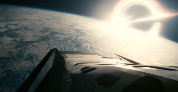 Interstellar movie singularity black hole event horizon