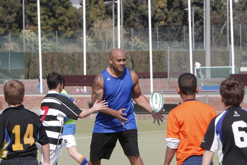 Jonah Lomu Global Sports Forum Barcelona