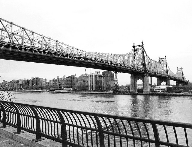 Queensboro Bridge New York City, featured in Woody Allen's MANHATTAN