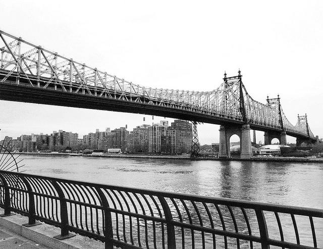 Queensboro Bridge New York City, featured in Woody Allen's MANHATTAN